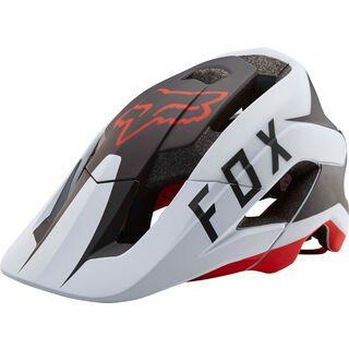 Fox Metah Flow Helmet, white/black/red - Fahrradhelm