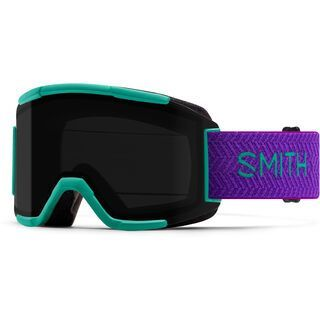Smith Squad inkl. WS, jade block/Lens: cp sun black - Skibrille