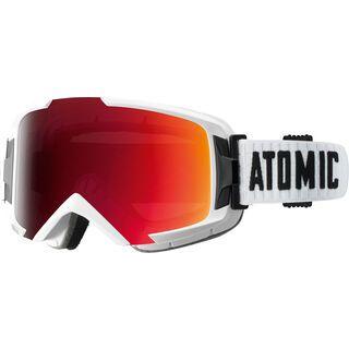 Atomic Savor OTG ML, white/Lens: mid red multilayer - Skibrille