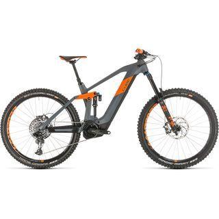 Cube Stereo Hybrid 160 HPC TM 27.5 2020, grey´n´orange - E-Bike
