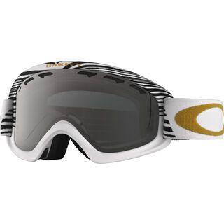 Oakley O2 XS Shaun White Signature, sw white red/Lens: dark grey