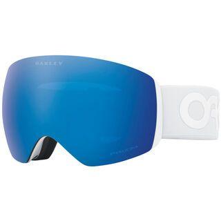 *** 2. Wahl *** Oakley Flight Deck Prizm Factory Pilot Whiteout, Lens: sapphire iridium - Skibrille  