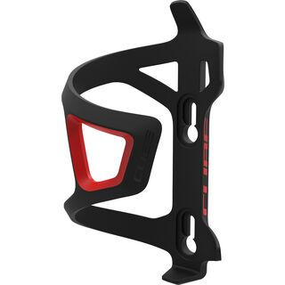 *** 2. Wahl *** Cube Flaschenhalter HPP-Sidecage, black'n'red  