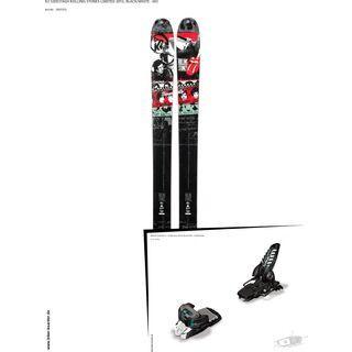 K2 SKI Set: Sidestash Rolling Stones Limited 2013 + Marker Griffon 13