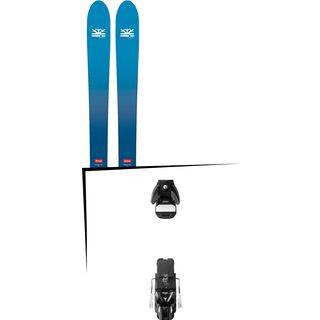 Set: DPS Skis Wailer F106 Foundation 2018 + Atomic STH 13 WTR black/gun metal