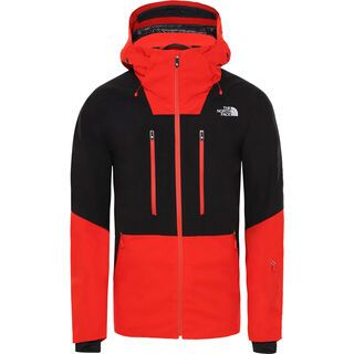 The North Face Mens Anonym Jacket, tnf black/fiery red - Skijacke