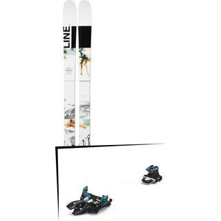 Set: Line Tom Wallisch Pro 2019 + Marker Alpinist 9 black/turquoise