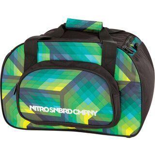 Nitro Duffle Bag XS, geo green - Sporttasche