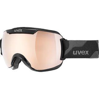 uvex Downhill 2000, black/Lens: litemirror gold - Skibrille