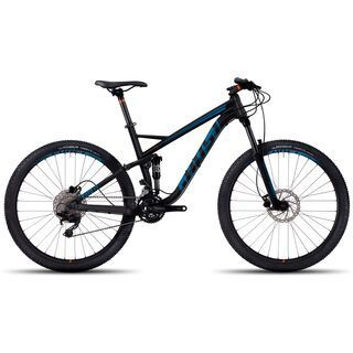 Ghost Kato FS 2 AL 2017, black/blue - Mountainbike