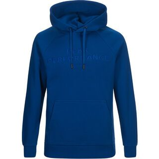 Peak Performance Logo Hood, island blue - Hoody