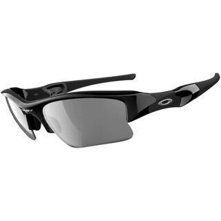 Oakley Flak Jacket XLJ, Jet Black/Black Iridium Polarized - Sportbrille