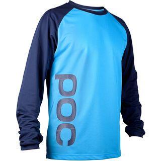 POC Flow Jersey, boron blue/tungsten blue - Radtrikot