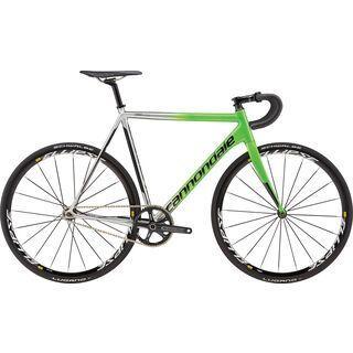 Cannondale CAAD10 Track 1 2016, silver/light green - Rennrad
