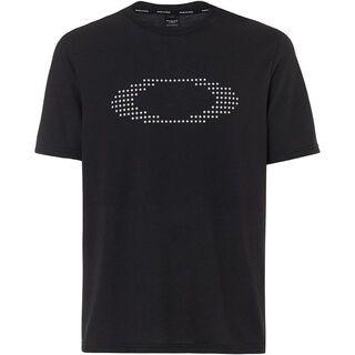 Oakley Ellipse Star SS, blackout - T-Shirt