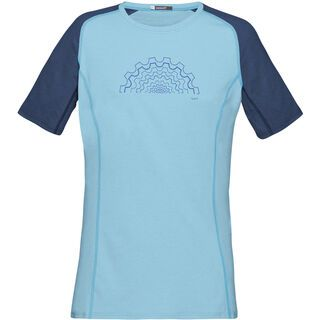 Norrona fjørå equaliser lightweight T-Shirt (W), indigo night/trick blue - Radtrikot