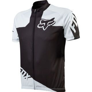 Fox Livewire Race Jersey, black/white - Radtrikot