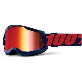 100% Strata, masego/Lens: red mirror - MX Brille