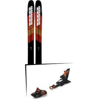 Set: K2 SKI Catamaran 2019 + Marker Kingpin 13 black/copper