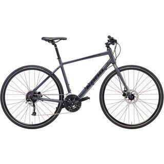 Kona Dew Plus 700C 2018, charcoal/yellow/black - Fitnessbike