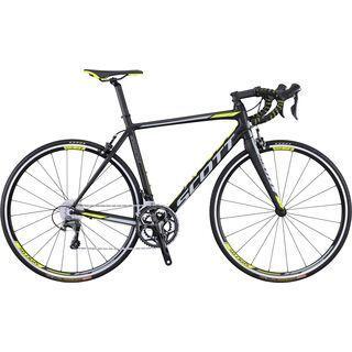 Scott Speedster 10 2016, black/yellow/grey - Rennrad