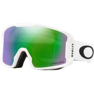 Oakley Line Miner XM Prizm, matte white/Lens: jade iridium - Skibrille
