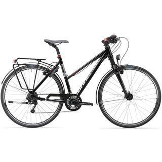 Cannondale Tesoro Mixte 1 2014, schwarz - Trekkingrad