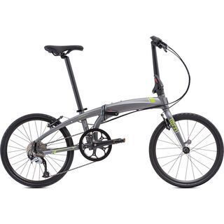Tern Verge D9 2019, gunmetal/green - Faltrad