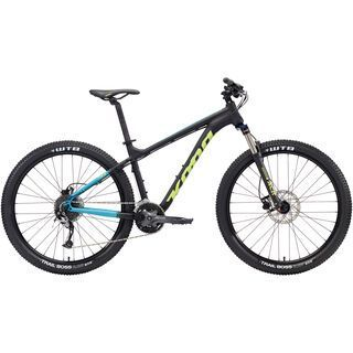 Kona Tika 27.5 2018, black/aqua/green - Mountainbike