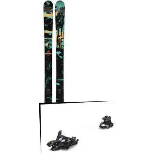 Set: Line Chronic 2018 + Marker Alpinist 12 black/titanium