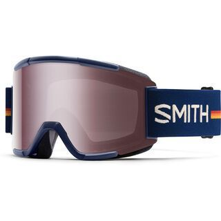 Smith Squad + Spare Lens, navy owner operator/ignitor mirror - Skibrille