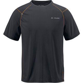 Vaude Mens Hallett Shirt, black - T-Shirt