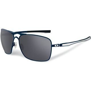 Oakley Plaintiff Squared, Matte Black/Grey Polarized - Sonnenbrille