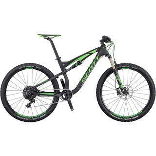 Scott Spark 720 2016, anthracite/black/green - Mountainbike