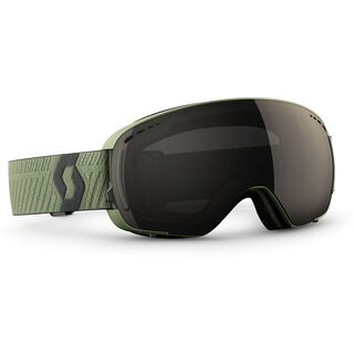 Scott LCG Compact + Spare Lens, halo green/solar black chrome - Skibrille