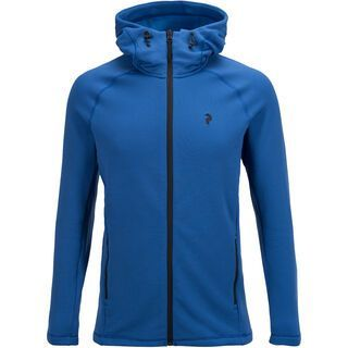 Peak Performance Waitara Zip Hood, true blue - Fleecejacke