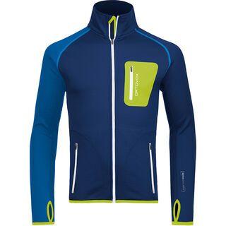 Ortovox Fleece Merino Jacket, strong blue - Fleecejacke