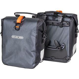 Ortlieb Gravel-Pack QL2.1 (Paar), schiefer - Fahrradtasche