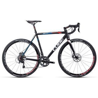 Cube Cross Race Disc 2015, black/red/blue - Crossrad