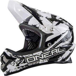 ONeal Backflip Fidlock DH Helmet RL2 Shocker, black/white - Fahrradhelm
