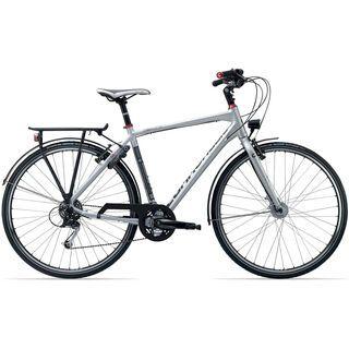 Cannondale Tesoro 3 2013, fine silver - Trekkingrad