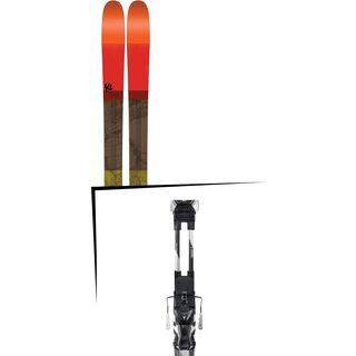 Set: K2 SKI Poacher 2017 + Atomic Tracker 13 MNC (1681259S)