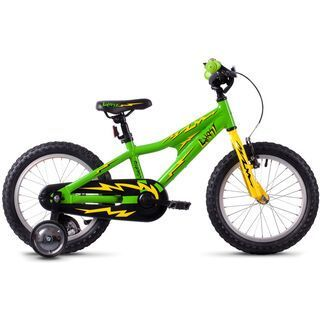 Ghost Powerkid 16 AL riot green/cane yellow/riot red 2020