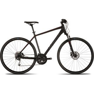 Ghost Panamao X 5 Midseason 2016, black/red/gray - Fitnessbike