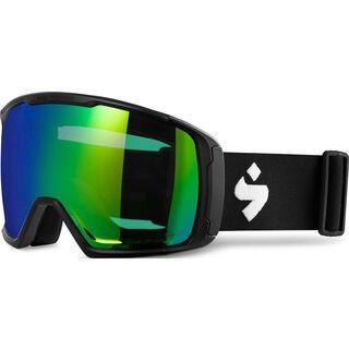 Sweet Protection Clockwork WC RIG Reflect BLI + WS, matte black/Lens: RIG emerald - Skibrille