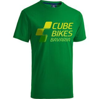 Cube T-Shirt Bavaria green´n´lime