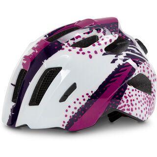 Cube Helm Fink, white´n´violette - Fahrradhelm
