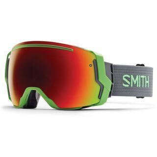 Smith I/O 7 + Spare Lens, reactor/red sol-x mirror - Skibrille