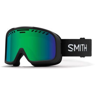 Smith Project, black/Lens: green sol-x mirror - Skibrille