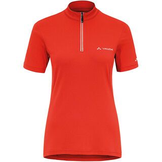 Vaude Women´s Fisk Shirt II, glowing red - Radtrikot